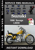 Thumbnail 1996 Suzuki Savage LS650 Service Repair Manual Download