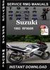 Thumbnail 1993 Suzuki RF900R Service Repair Manual Download