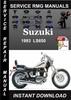 Thumbnail 1993 Suzuki LS650 Service Repair Manual Download