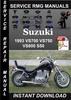 Thumbnail 1993 Suzuki VS700 VS750 VS800 S50 Service Repair Manual Down