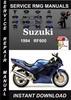 Thumbnail 1994 Suzuki RF600 Service Repair Manual Download