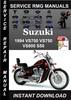 Thumbnail 1994 Suzuki VS700 VS750 VS800 S50 Service Repair Manual Down