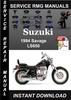 Thumbnail 1994 Suzuki Savage LS650 Service Repair Manual Download