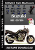 Thumbnail 1995 Suzuki GSF600 Service Repair Manual Download