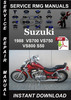 Thumbnail 1988 Suzuki VS700 VS750 VS800 S50 Service Repair Manual Down