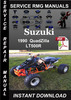 Thumbnail 1990 Suzuki QuadZilla LT500R Service Repair Manual Download