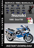 Thumbnail 1990 Suzuki Gsxr750 Service Repair Manual Download