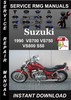 Thumbnail 1990 Suzuki VS700 VS750 VS800 S50 Service Repair Manual Down