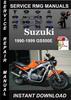 1990-1999 Suzuki GS500E Service Repair Manual Download