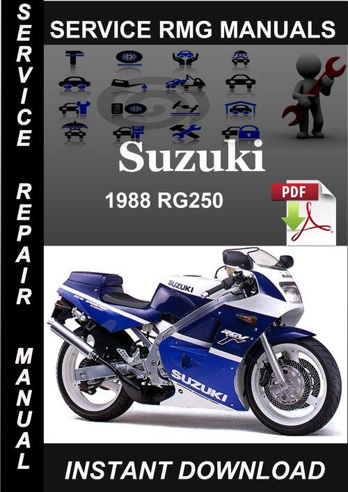 Product picture 1988 Suzuki RG250 Service Repair Manual Download