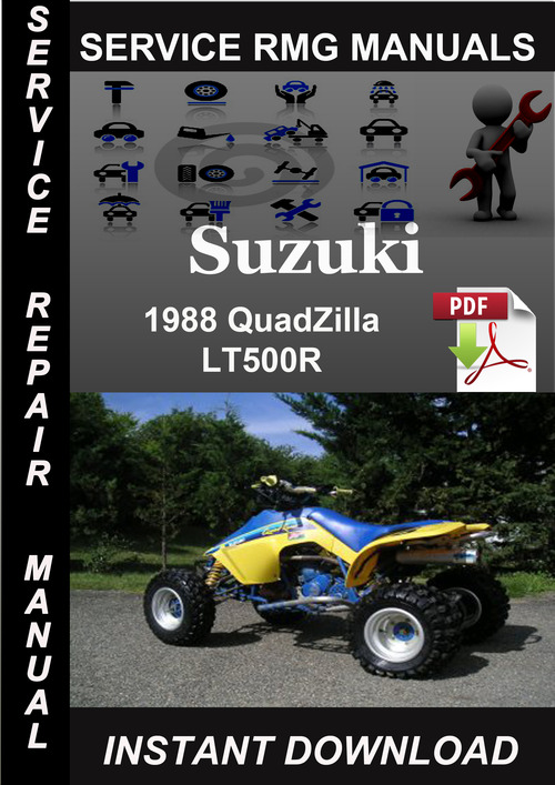 Product picture 1988 Suzuki QuadZilla LT500R Service Repair Manual Download