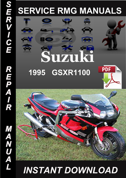 Product picture 1995 Suzuki GSXR1100 Service Repair Manual Download