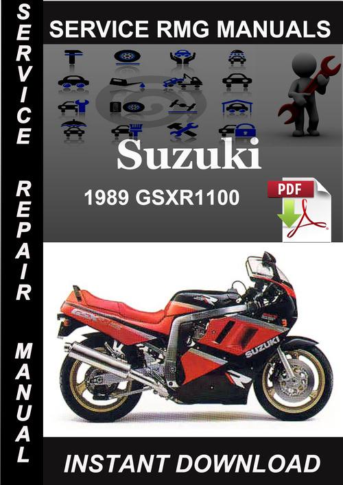 Product picture 1989 Suzuki GSXR1100 Service Repair Manual Download