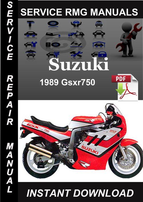 Product picture 1989 Suzuki Gsxr750 Service Repair Manual Download