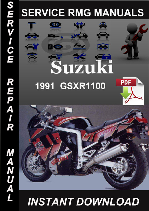 Product picture 1991 Suzuki GSXR1100 Service Repair Manual Download