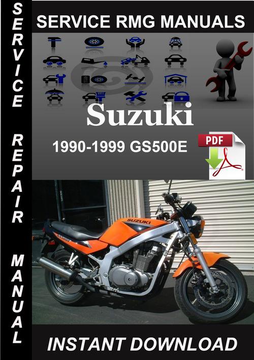 Product picture 1990-1999 Suzuki GS500E Service Repair Manual Download