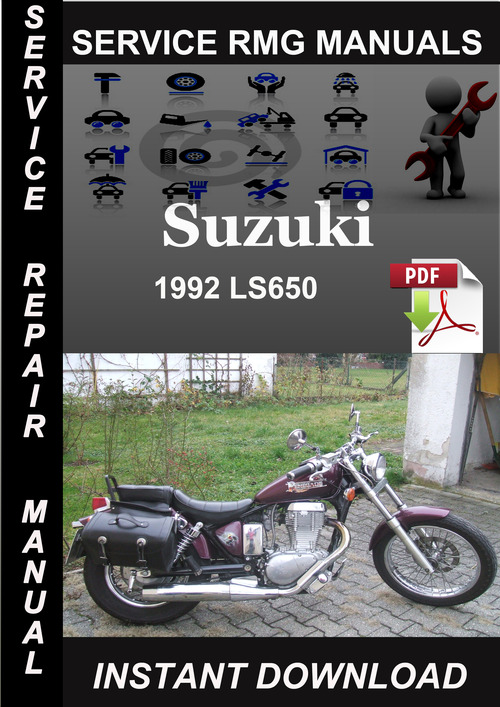 Product picture 1992 Suzuki LS650 Service Repair Manual Download